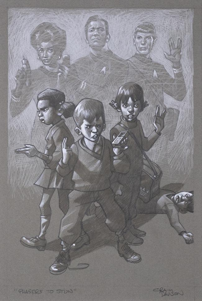 Sketch- Phasers to Stun by Craig Davison