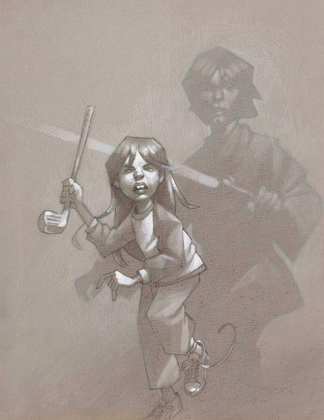 Skye Walker - Sketch by Craig Davison