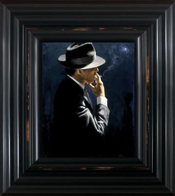 Smoking Under The Light II by Fabian Perez