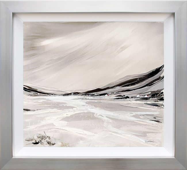 Sparkling Shores (On Aluminium) by Duncan MacGregor
