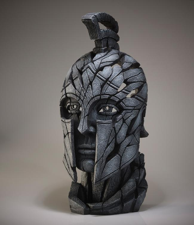 Spartan Bust - Slate by Edge Sculptures by Matt Buckley