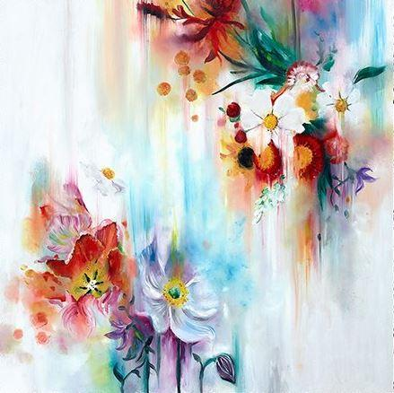 Spring Blooms Large by Katy Jade Dobson