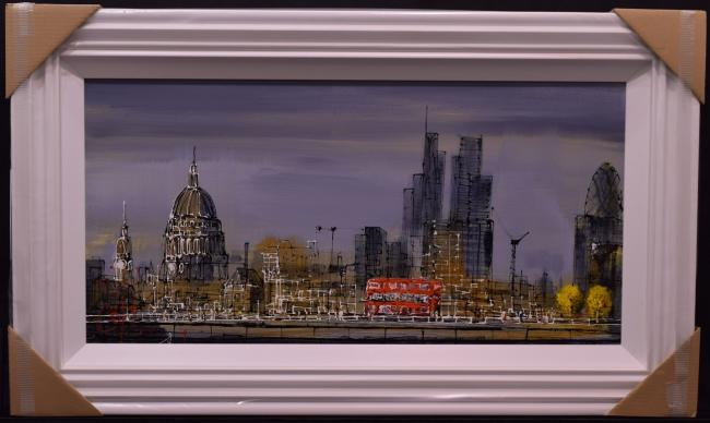 St Pauls In The Distance by Nigel Cooke