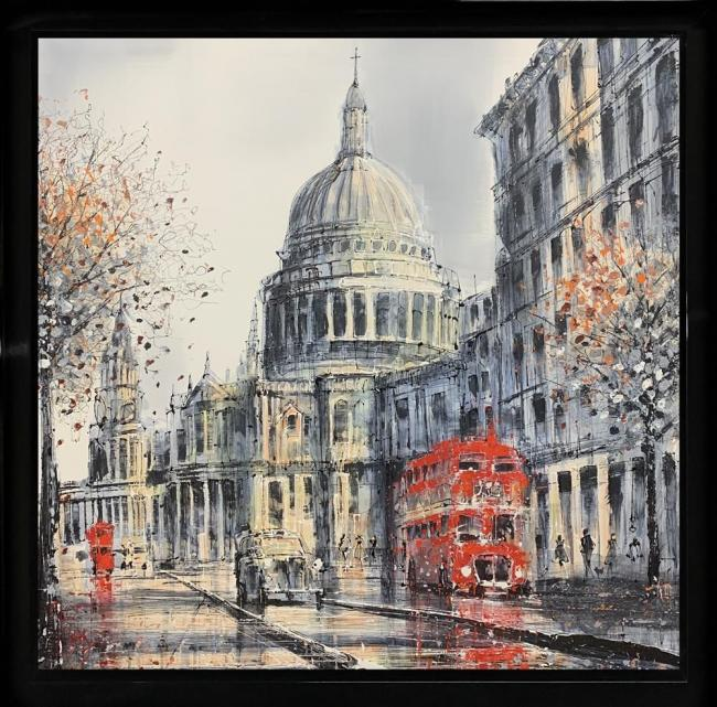 St Pauls Rush by Nigel Cooke