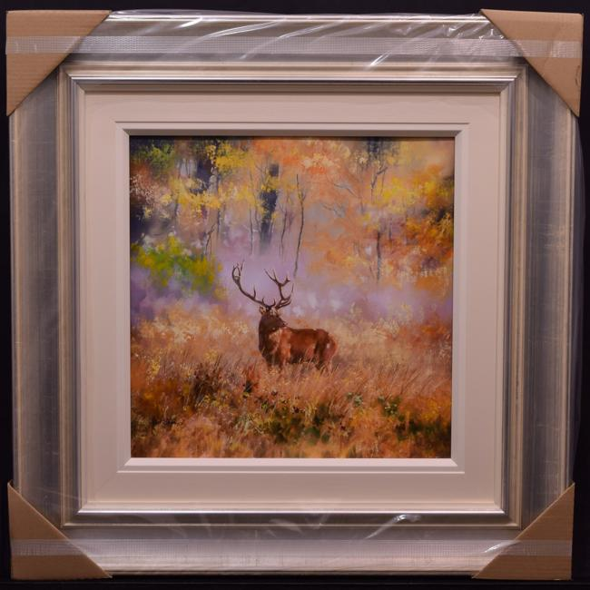 Stag at Early Dawn by Allan Morgan