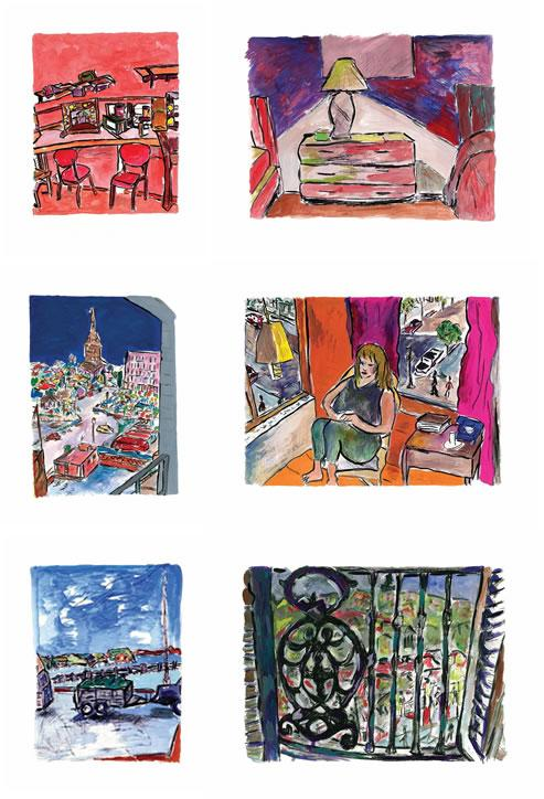 Standard Portfolio Set of 6 - 2013 by Bob Dylan