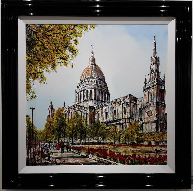 Summer At St Pauls by Nigel Cooke