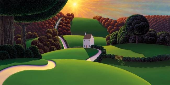Sunburst by Paul Corfield