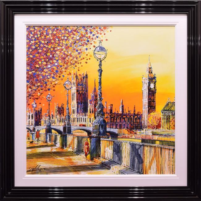 Sunset Embankment by Simon Wright