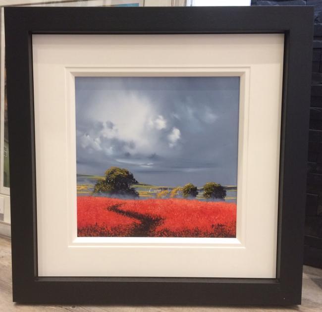Sunshine Fields II 16 x 16 by Allan Morgan