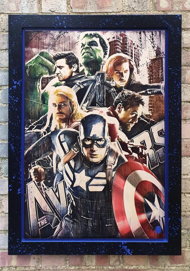 The Avengers by Rob Bishop