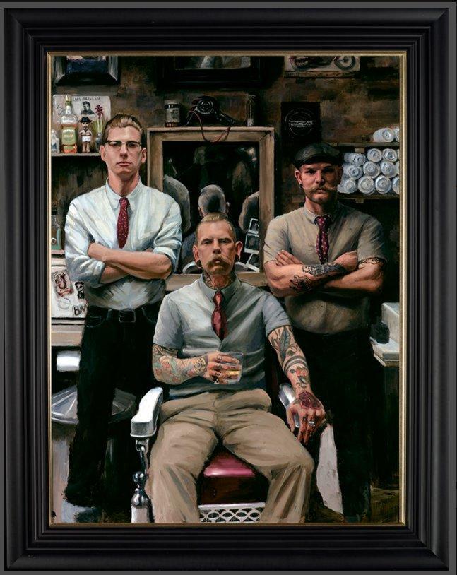 The Barber by Vincent Kamp