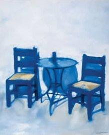 The Blue Table by Reuben Colley