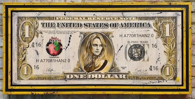 The Bride $100 Bill by Rob Bishop