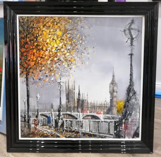 The Capital Clock by Nigel Cooke