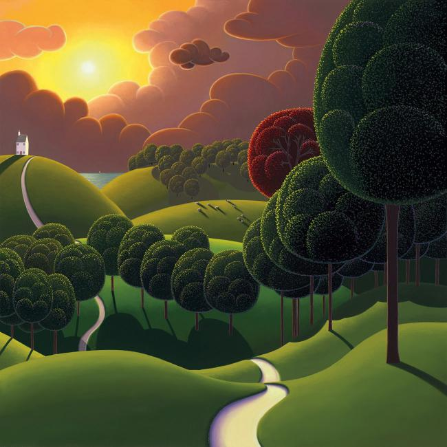 The Coastal Trail by Paul Corfield