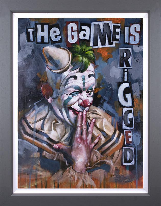 The Game is Rigged- Canvas Deluxeby Craig Davison