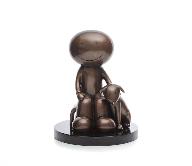 The Great Outdoors - Bronze by Doug Hyde