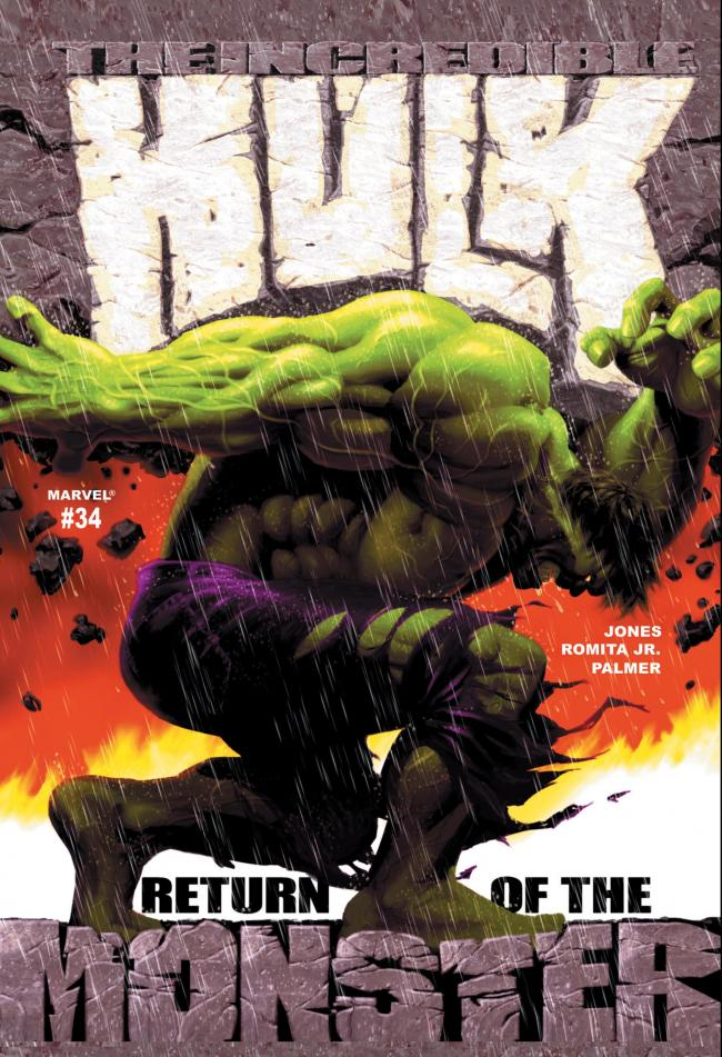 The Incredible Hulk #34- Return of the Monster by Stan Lee  Marvel Comics