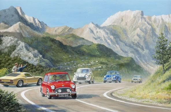 The Italian Job Lives I by Tony Smith