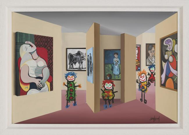 The Picasso Gallery by John Wilson