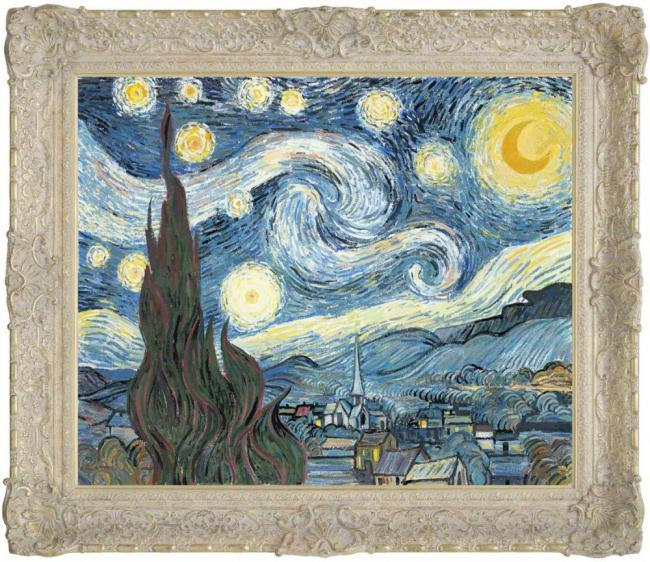 The Starry Night by John Myatt