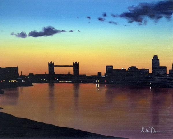 The Thames by Neil Dawson