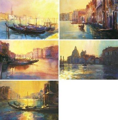 The Venetian Quartet Portfolio & Free LE Print by Cecil Rice