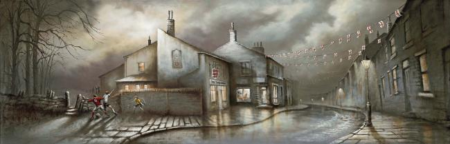 Three Lions by Bob Barker