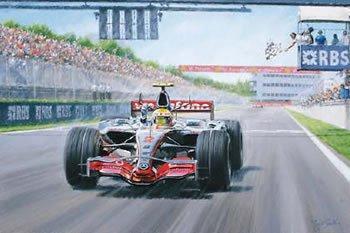 Three Two Won (Lewis Hamilton, Canadian GP 2007) by Tony Smith