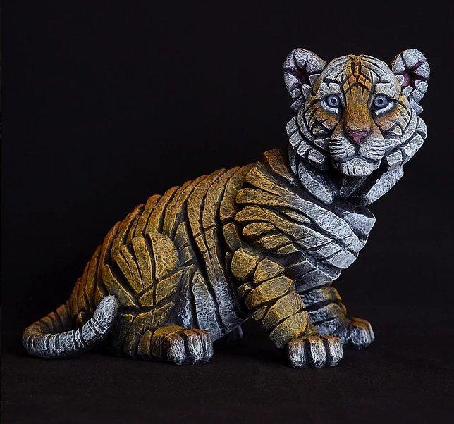 Tiger Cub by Edge Sculptures by Matt Buckley