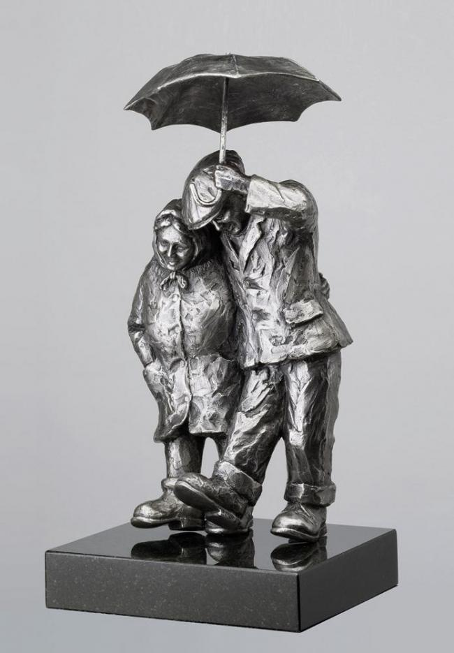Together Forever - Stainless Steel by Alexander Millar