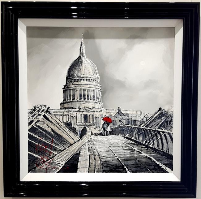 Towards St Pauls by Nigel Cooke