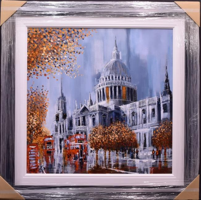 Towards St Pauls by Simon Wright