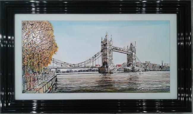 Tower Bridge by Nigel Cooke