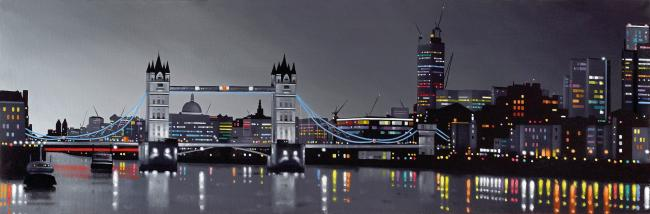 Towers Over London by Neil Dawson