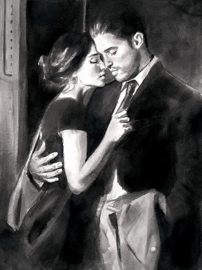 Train Station V by Fabian Perez