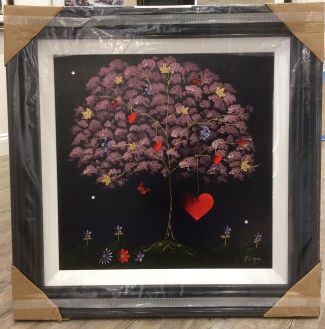 Tree of Love I (24 x 24)by Elisa Jane Speight