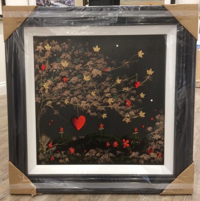 Tree of Love II (24 x 24)by Elisa Jane Speight