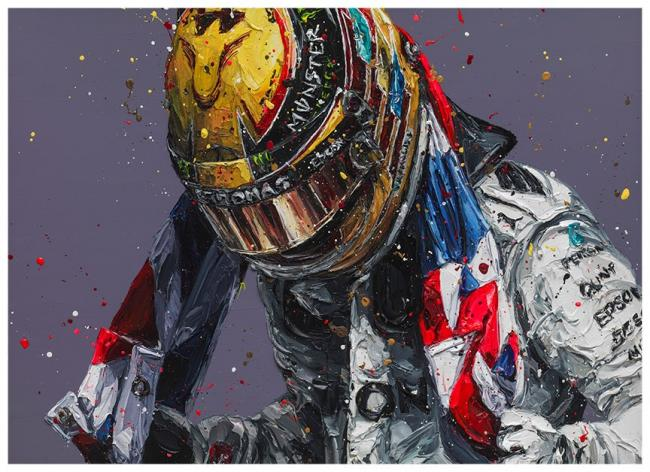 Union Lewis III- Canvas by Paul Oz