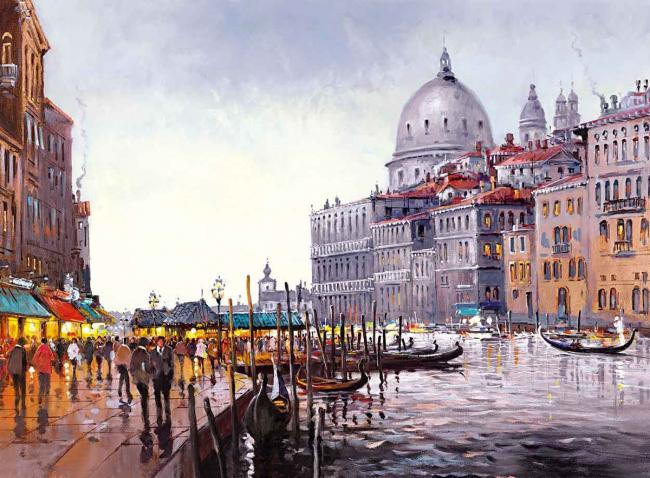 Venetian Lovesong by Henderson Cisz