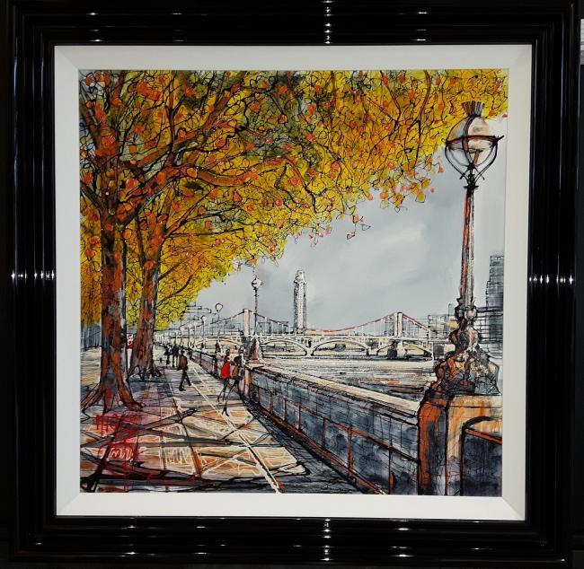 Victoria Embankment by Nigel Cooke