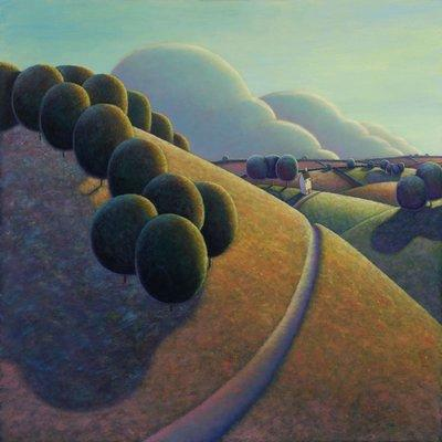 View From The Hill by Paul Corfield
