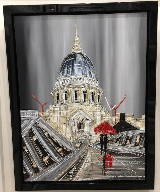Walking The Millenium Bridge by Edward Waite