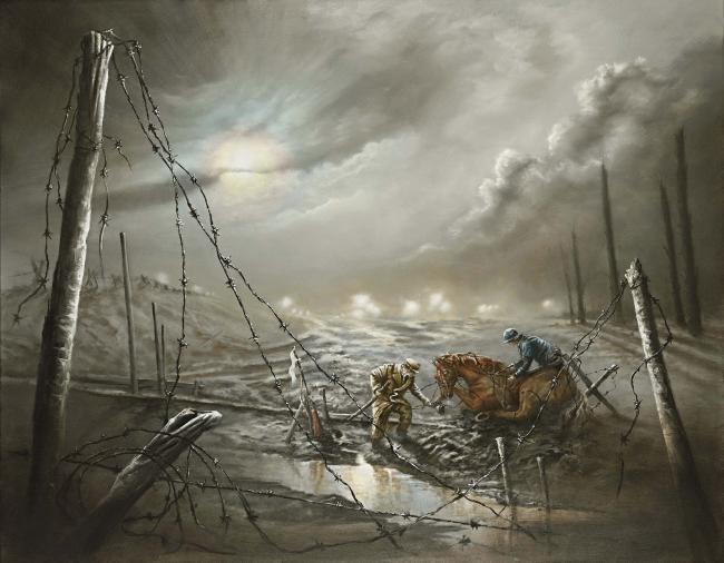 War Horse by Bob Barker