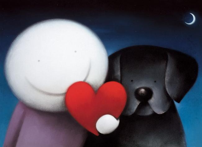 We Share Love by Doug Hyde