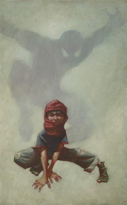 Web Head (Spider-man I) by Craig Davison