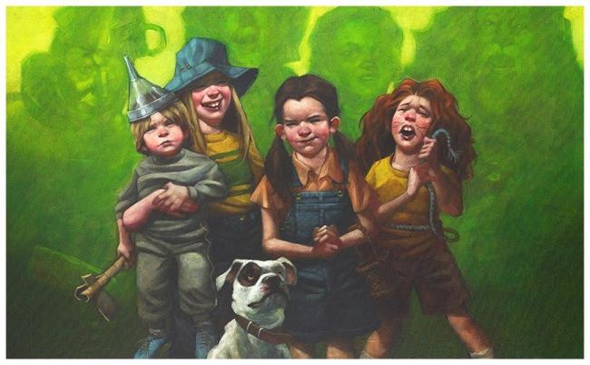 We're Off To See The Wizard - Canvas by Craig Davison