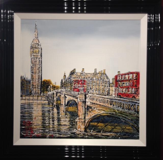 Westminster Bridge by Nigel Cooke