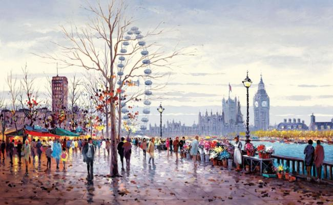 Westminster Morning by Henderson Cisz